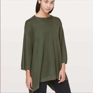 Lululemon Wool Be Cozy Poncho